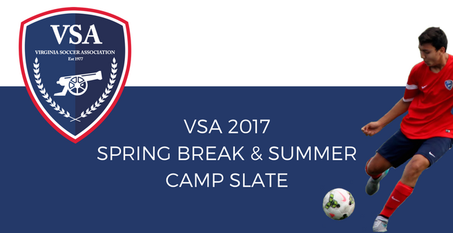 VSA 2017 Spring Break & Summer Camp Slate