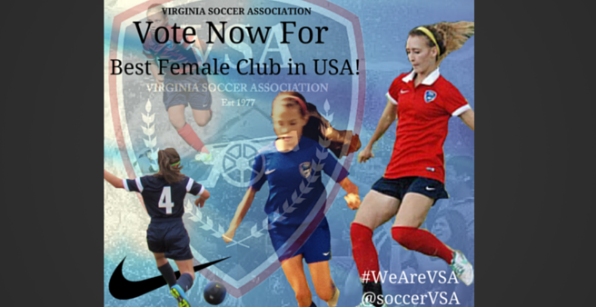 VSA Up For Female Club Of The Year!