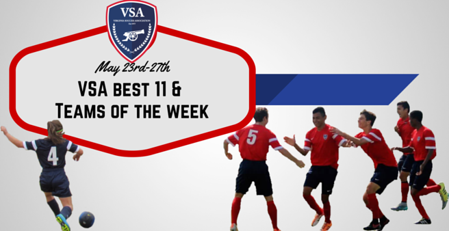 Best 11 & Teams of the week announced