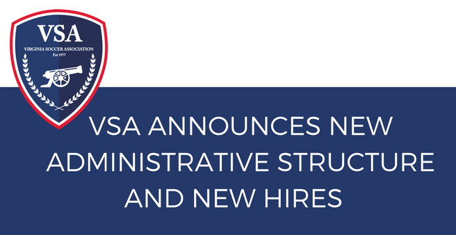 NEW ADMINISTRATIVE STRUCTURE AND NEW HIRES