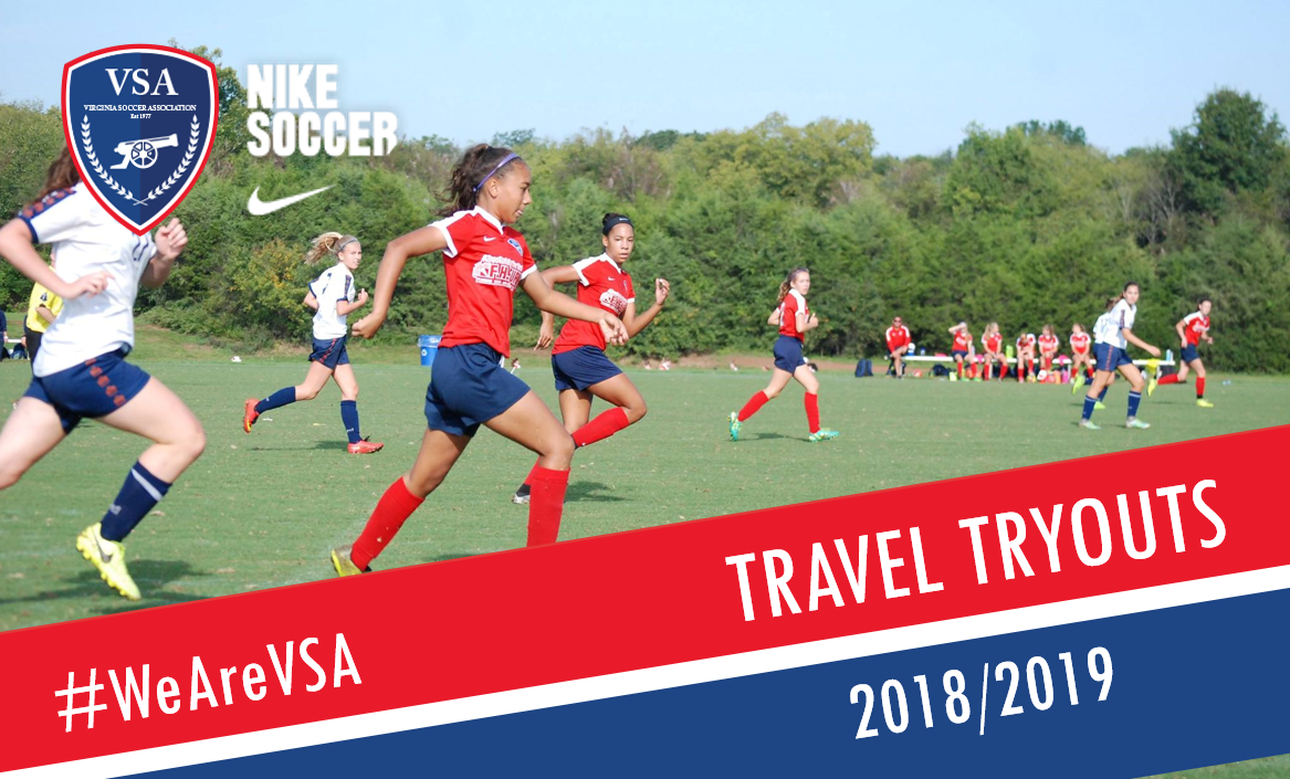 VSA Travel Tryouts - 2018-2019